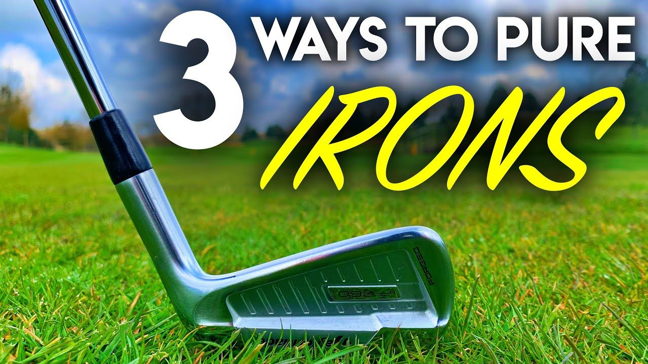 how to hit a golf ball straight with an iron