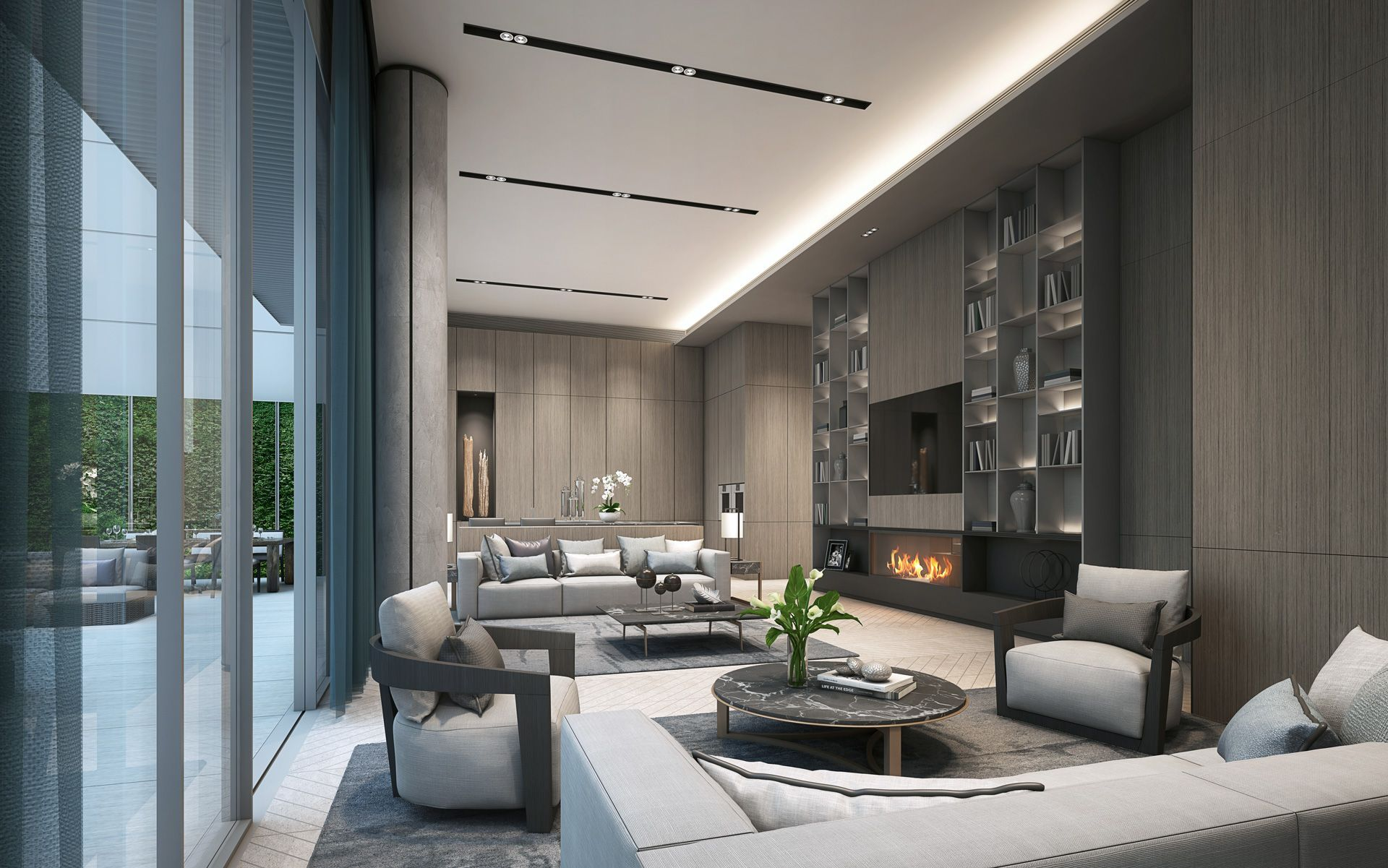 Pin by Wijaya Yapeter on Interior | Living Room (Family Room) in ...