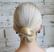 Image result for hairdresser showing bun  step by step