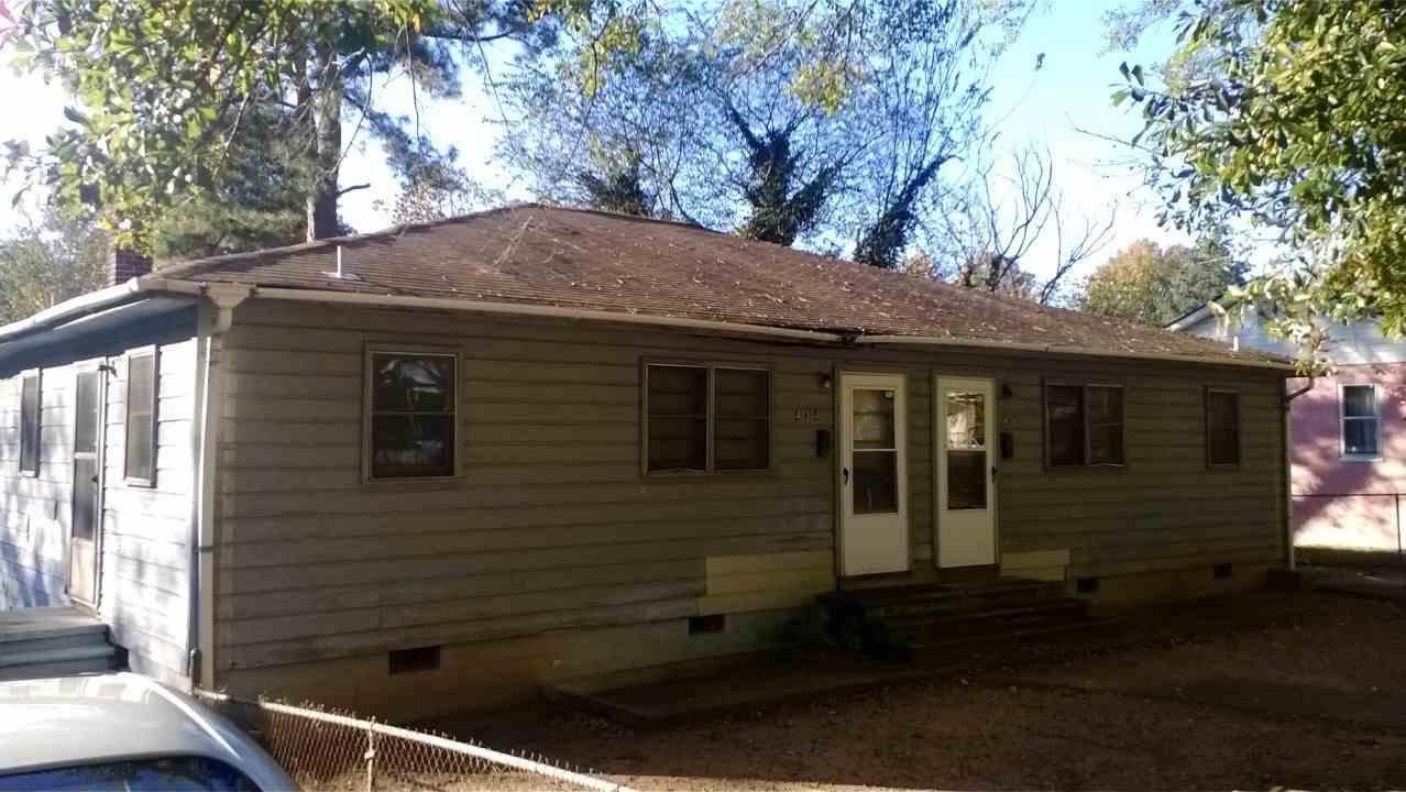 434 Highland Avenue - Duplex - Investment opportunity in Spartanburg.  $50,120.
