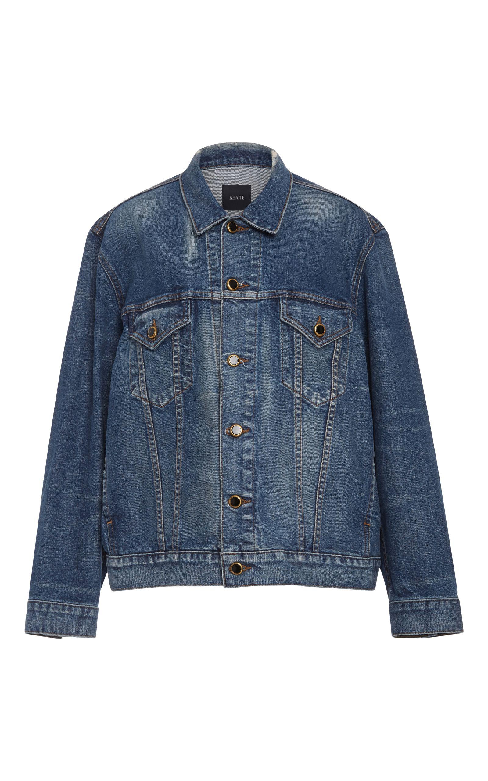 Cate Oversized Denim JacketKhaite 0p6fMEaRs