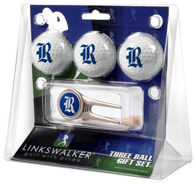 Rice University Owls-Cap Tool 3 Ball Gift Pack