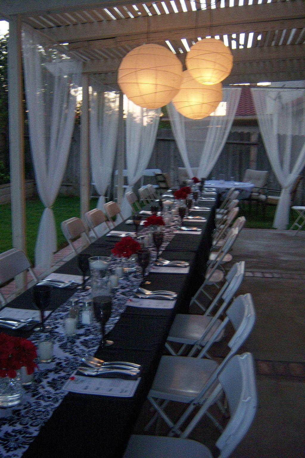 41 Awesome Valentine Backyard Ideas | Backyard dinner ...