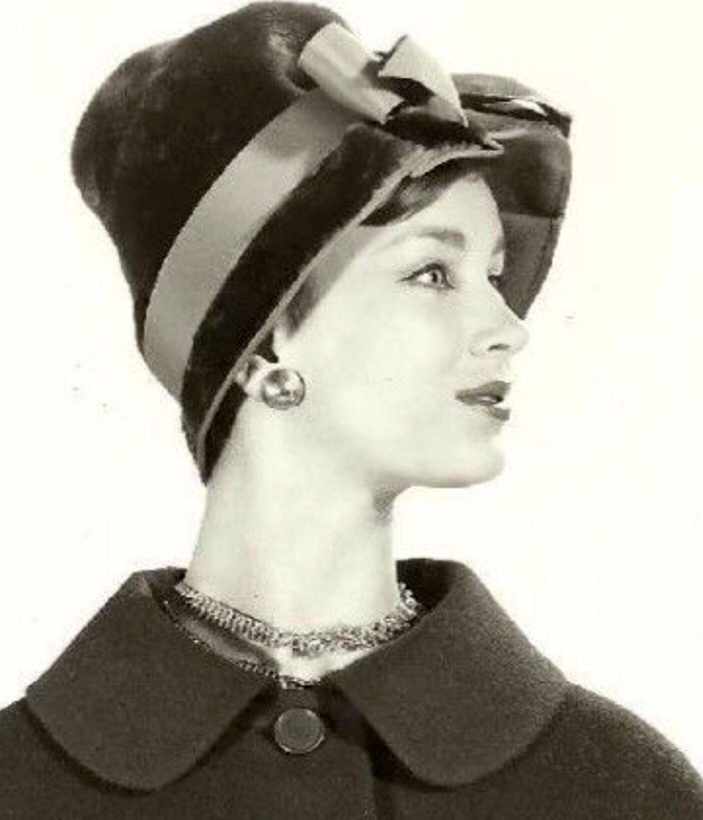 Think, vintage hats 1950 s