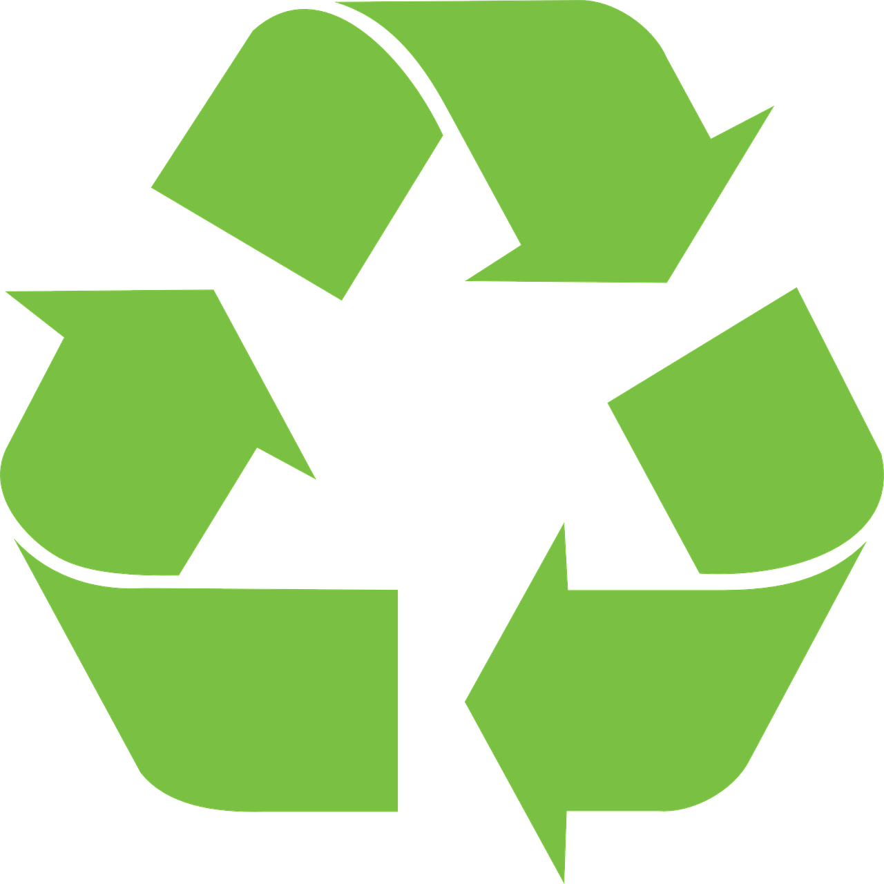 Recycle Logo Vinyl Sticker Decal Be Environmentally Friendly Buy 1 get 1 Free