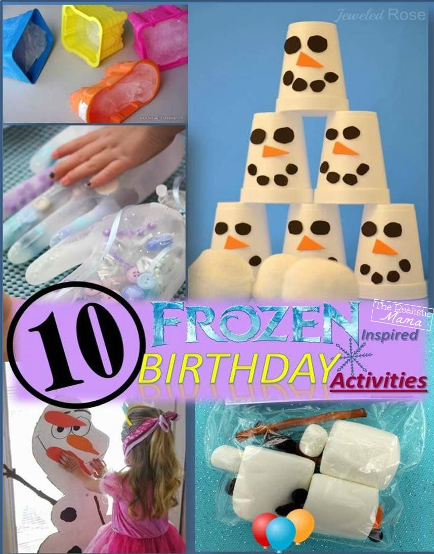 Frozen birthday party games on Pinterest  Frozen theme party games ...