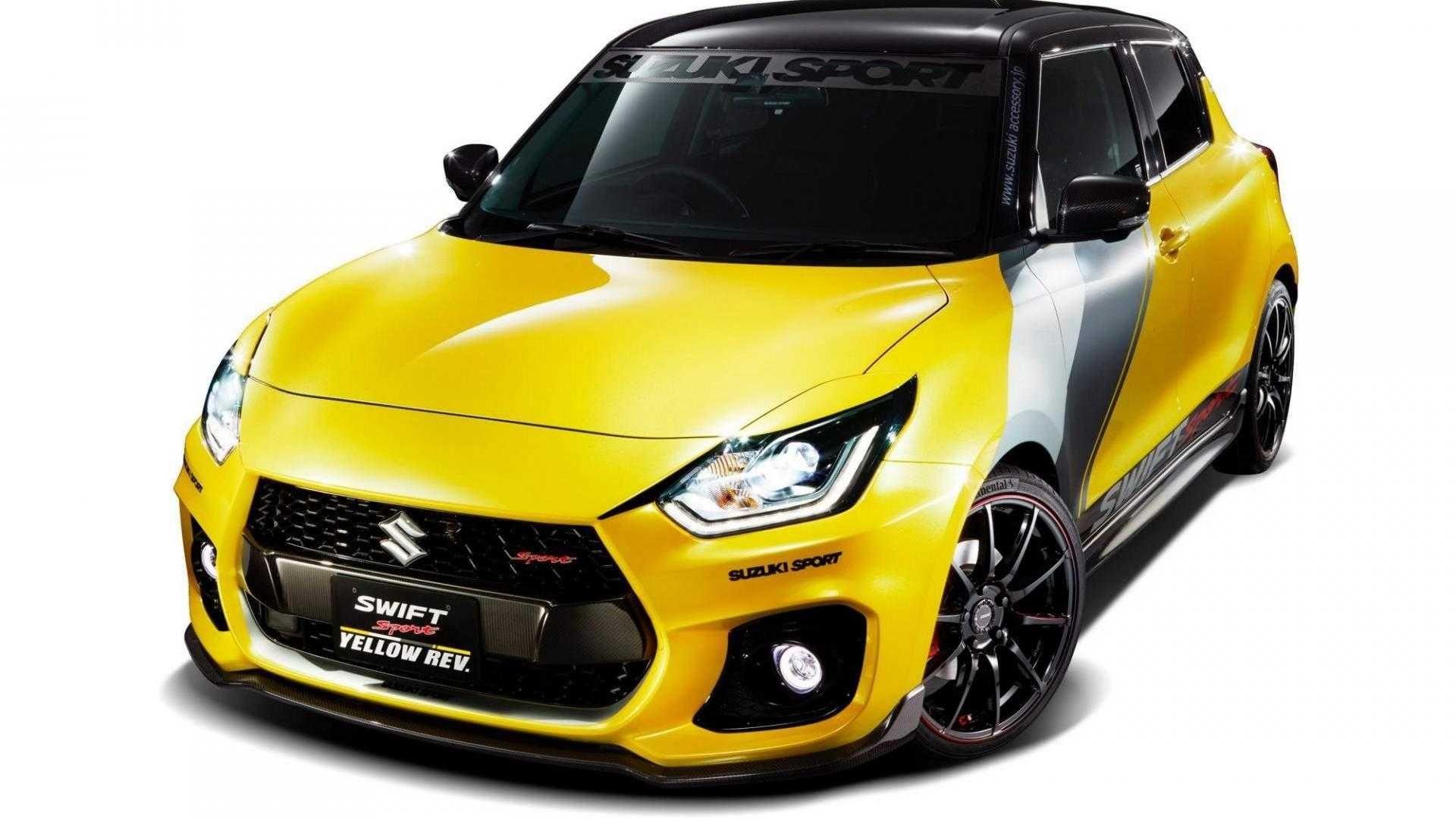 Suzuki Swift Sports Yellow Rev Looks Ready To Go Racing Suzuki Swift Jimny Suzuki Autos Deportivos
