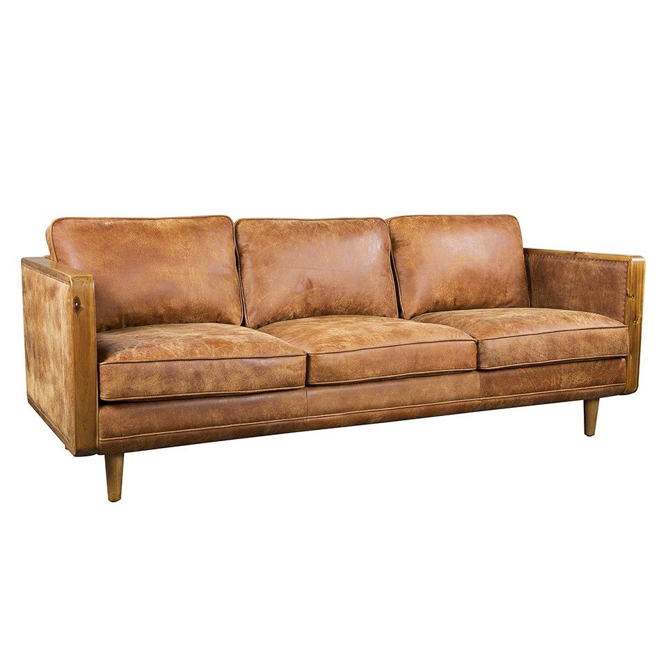 CAPETOWN SOFA GREY WOOD LEG Sofas Seating Living HD