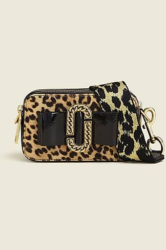 Leopard Bow Snapshot   Väskor