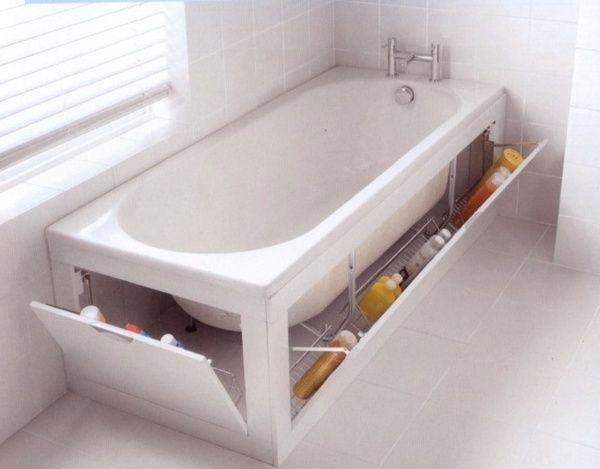 4 soluciones de almacenamiento para baños pequeños. | Baño pequeño ...