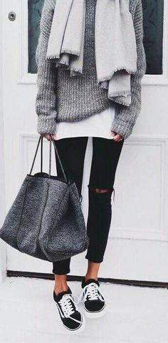 40 Comfy Casual Winter Streetwear Looks For Girls | Wintertrends, Winter trends, Outfit