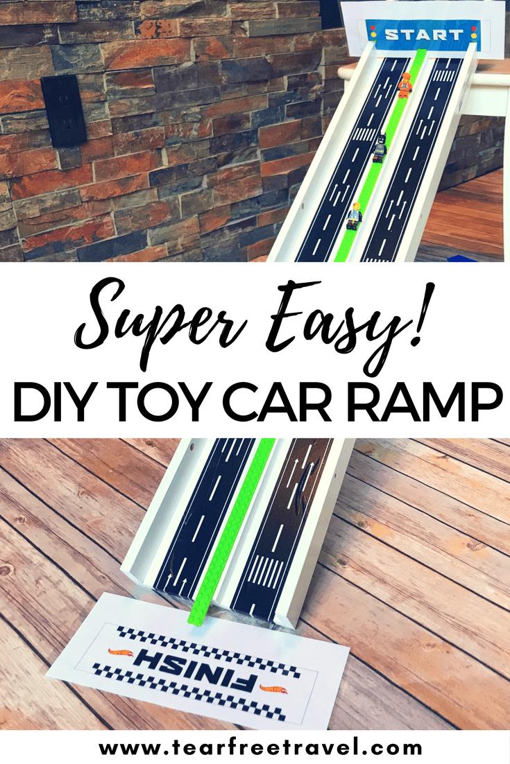 Ikea Hack: DIY Toy Car Ramp | Diy toys