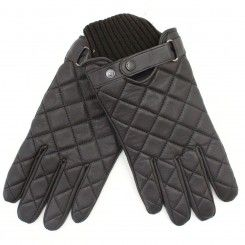 Barbour Quilted Leather Gloves Brown | Barbour Clothing ... : barbour quilted gloves - Adamdwight.com