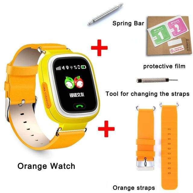 GPS Kid Smart Watch Baby Antilost with Wifi Touch Screen