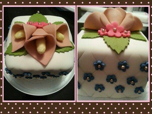 Lys callas mini cake