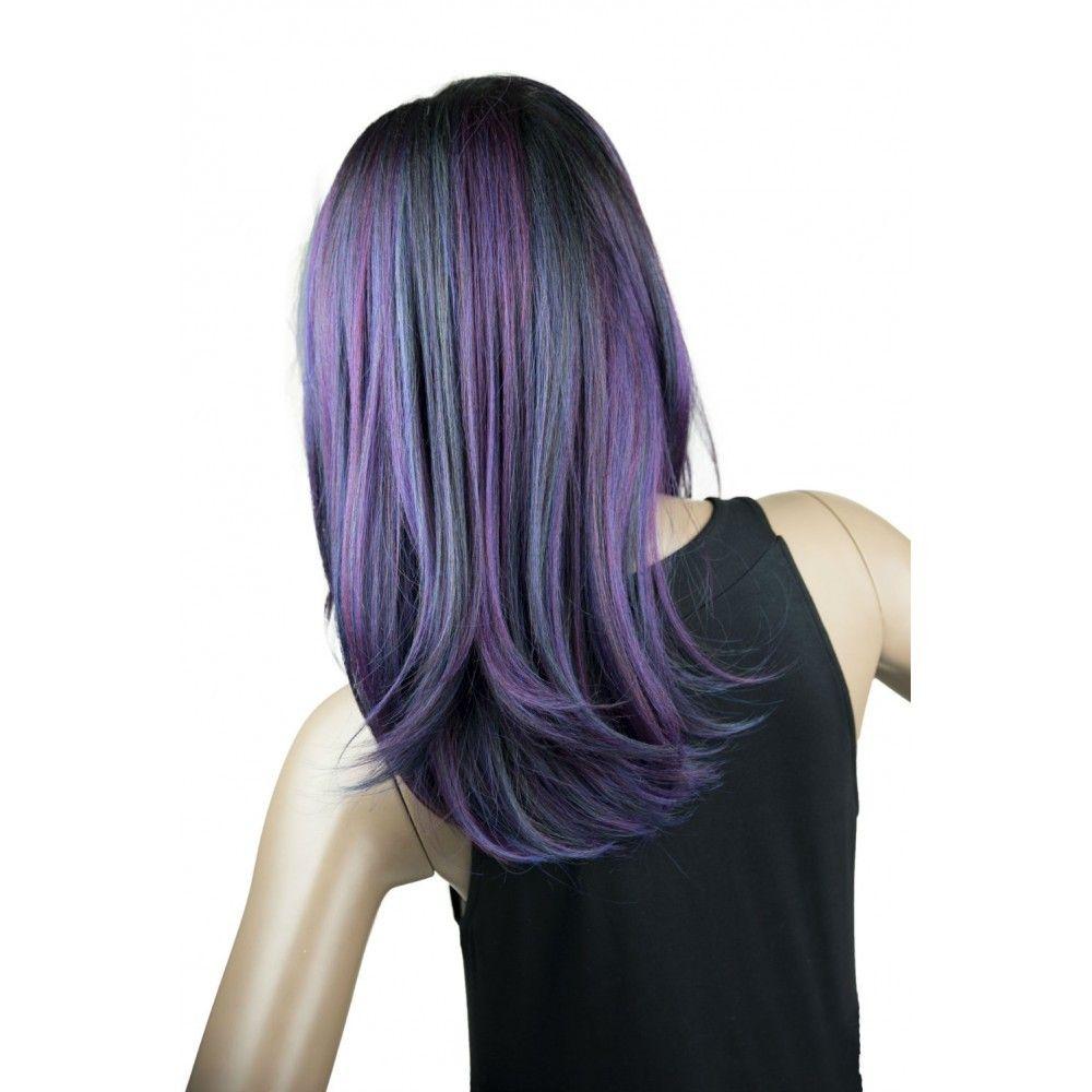 """Mane Concept Human Hair Blend Brown Sugar 13"""" x 4"""" Frontal"""