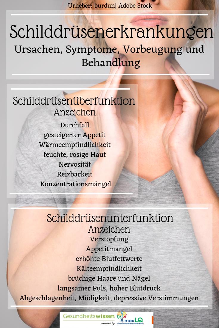 Schilddrüse - Funktion, Untersuchung, Erkrankungen..