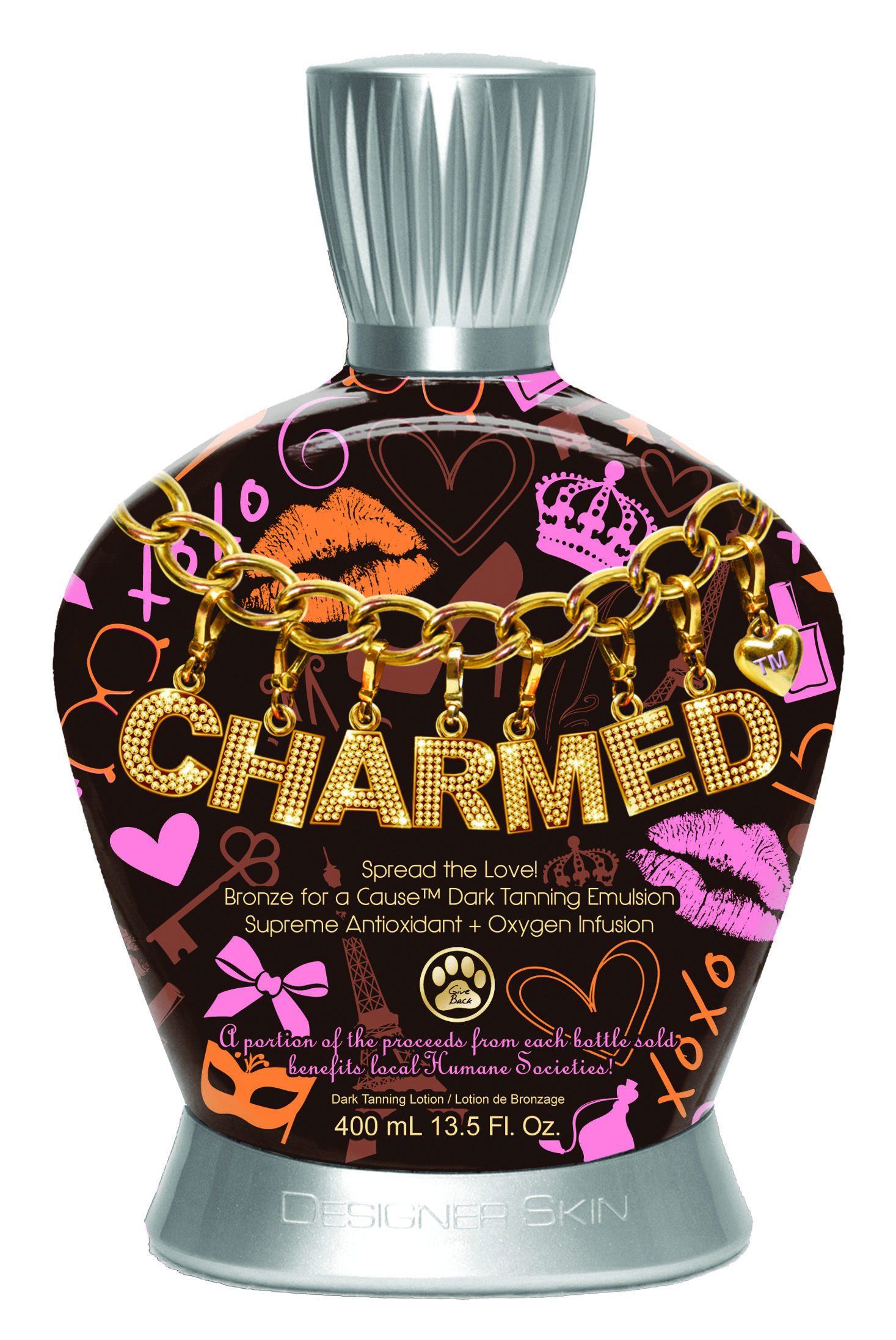 Charmed Bronze for a Cause™ Dark Tanning Emulsion 1
