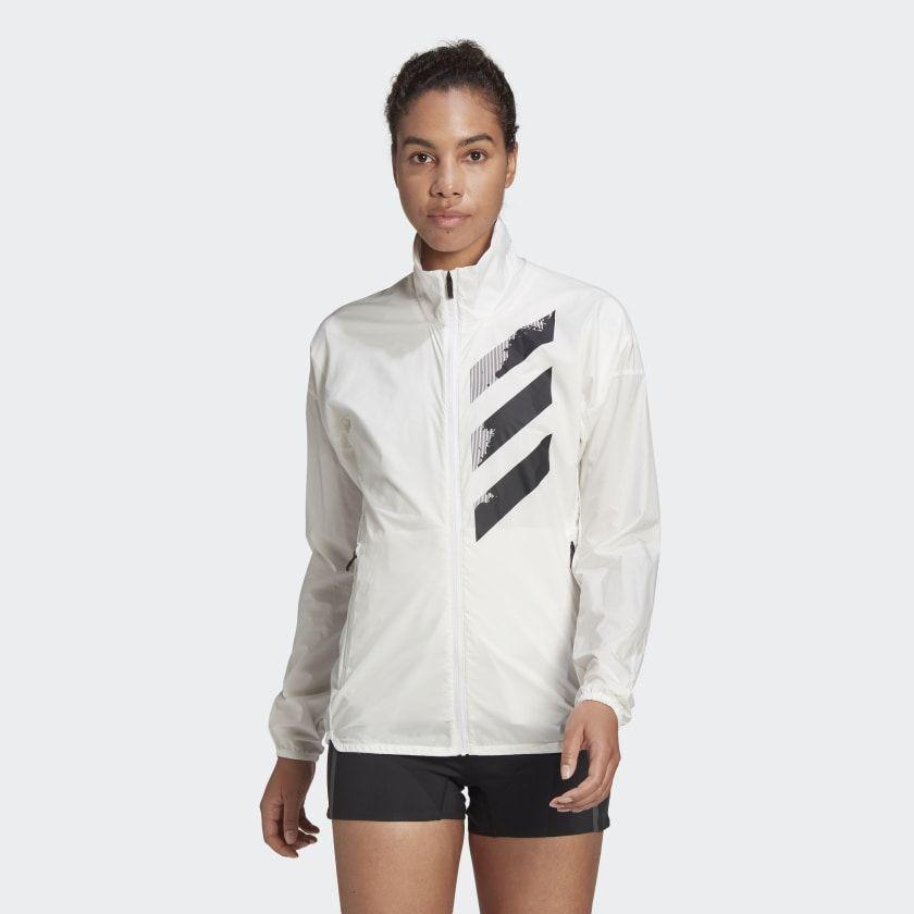 Esperar Infectar Trascender  adidas Chamarra rompevientos técnico Terrex Agravic - Blanco | adidas  Mexico in 2020 | Windbreaker, Adidas jacket, White adidas