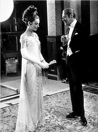 Rex Harrison As Henry Higgins Photo Rex Harrison And Audrey Hepburn In Costume Audrey Hepburn Photos Fair Lady My Fair Lady
