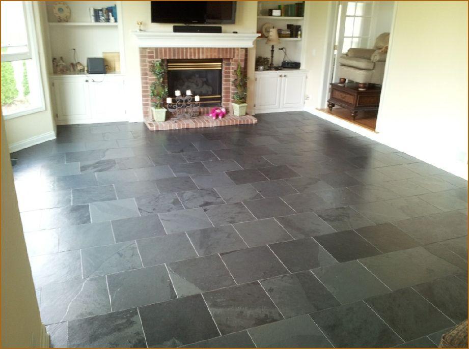 Slate Looking Tile Flooring | Winfield Basement, Bathroom U0026 Kitchen  Remodeling Project Reviews