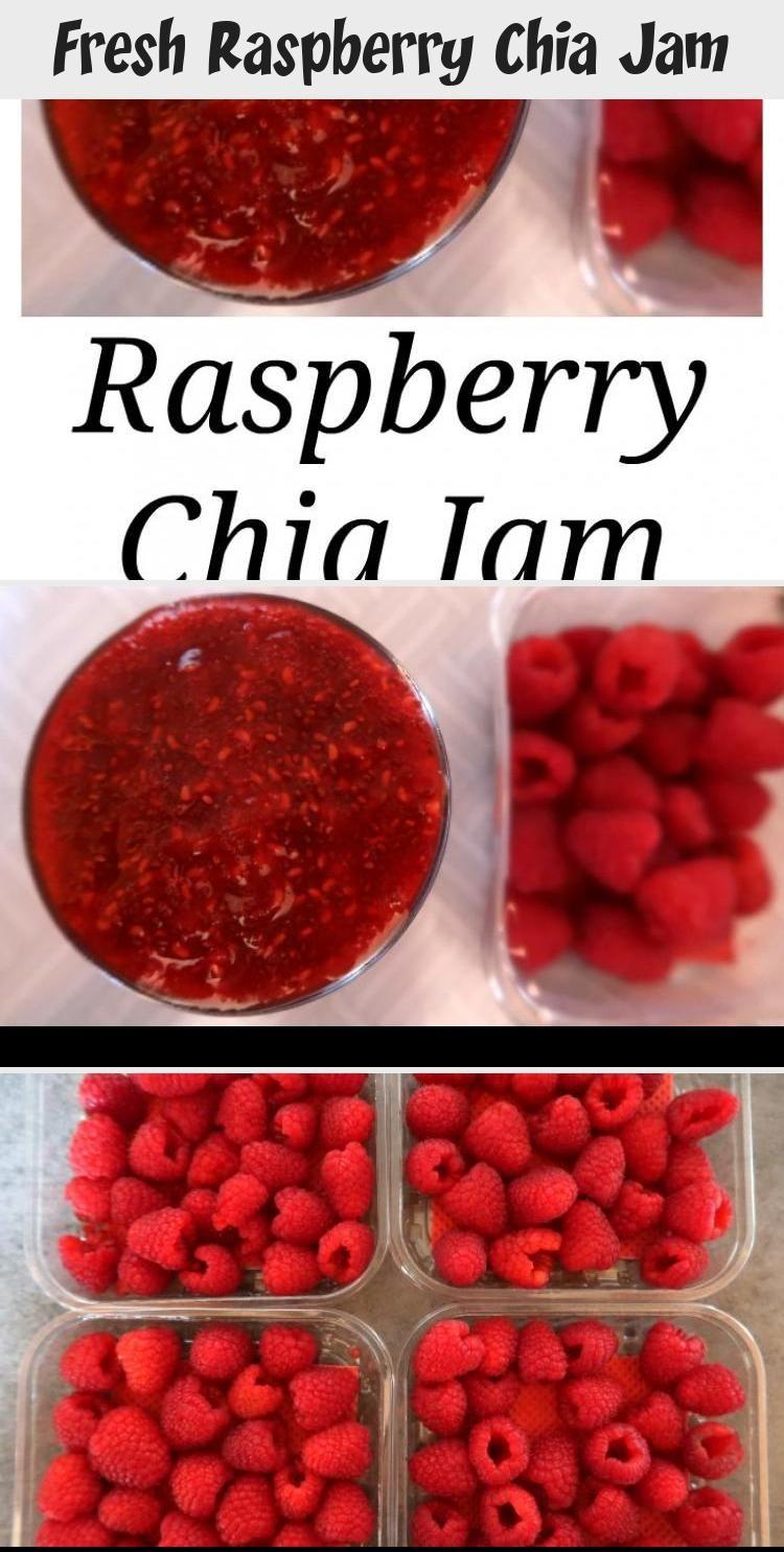 Fresh Raspberry Chia Jam – Yumyum