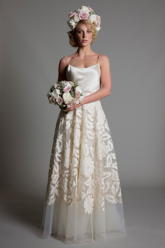 vintage wedding dress london