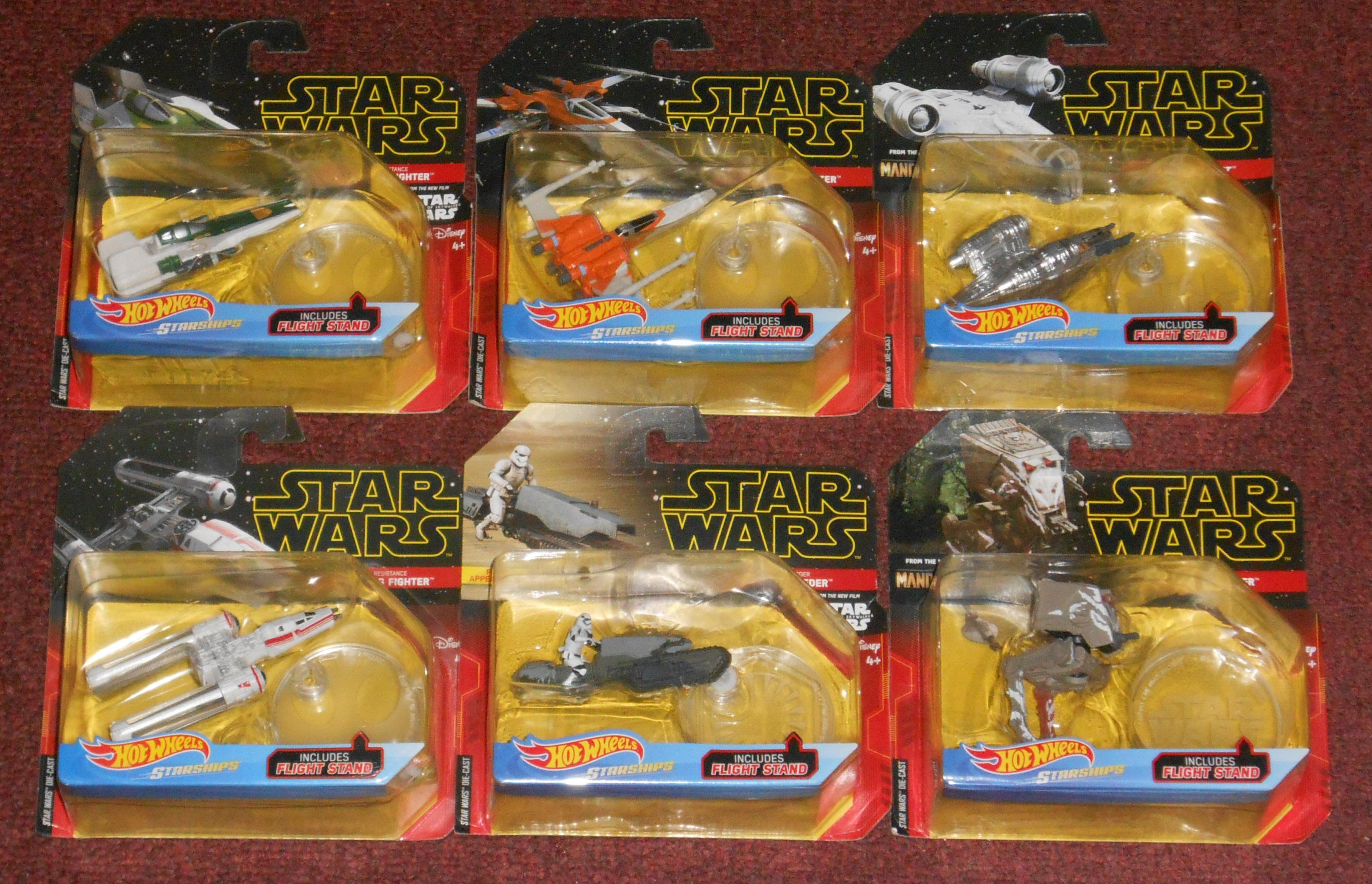 Hot Wheels Rise Of Skywalker Starships Star Wars Toys Starship Star Wars Collection