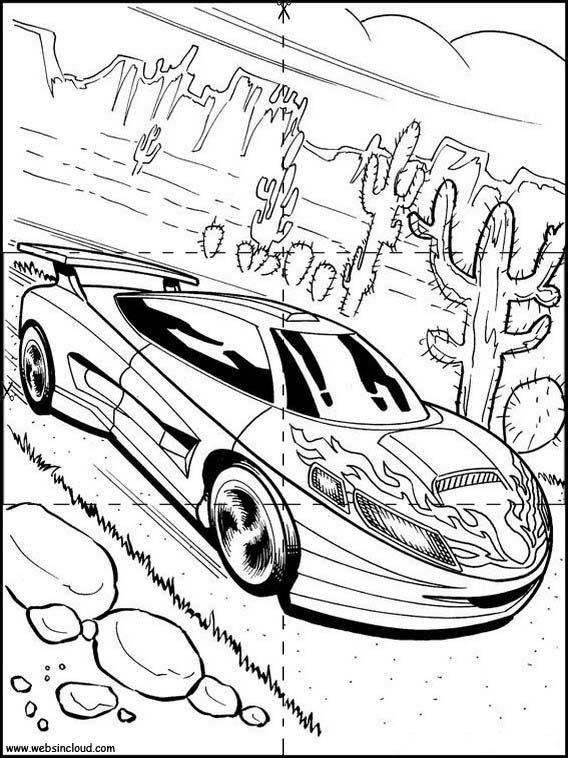 Puzzles Rompecabezas Para Imprimir Para Ninos Hot Wheels 11 Dibujos De Autos Colorear Para Ninos Carros Para Colorear