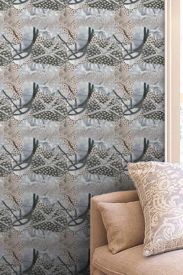 1 Iconic Palette Medium Wallpaper Angela Simeone In 2020 Wallpaper Pattern Wallpaper Standard Wallpaper