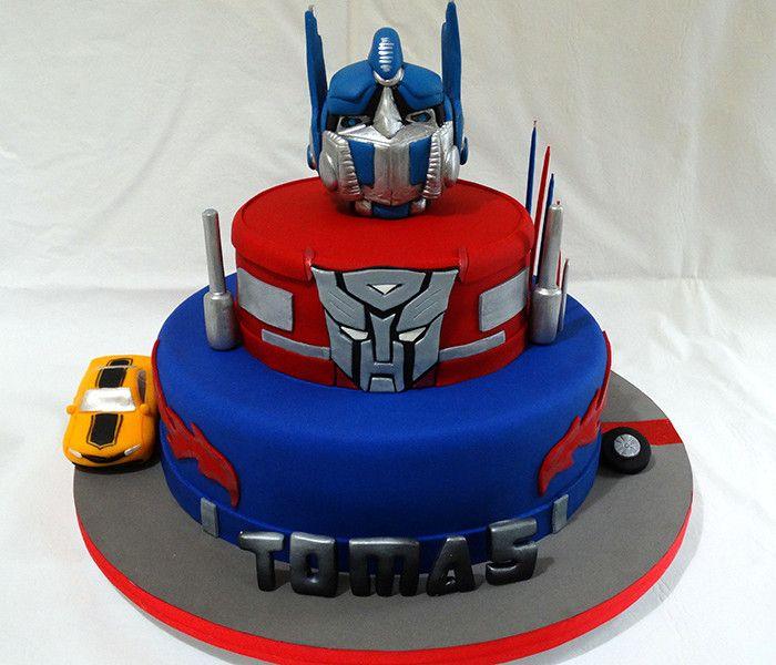 Transformers Transformers Cake En 2019 Pastel De