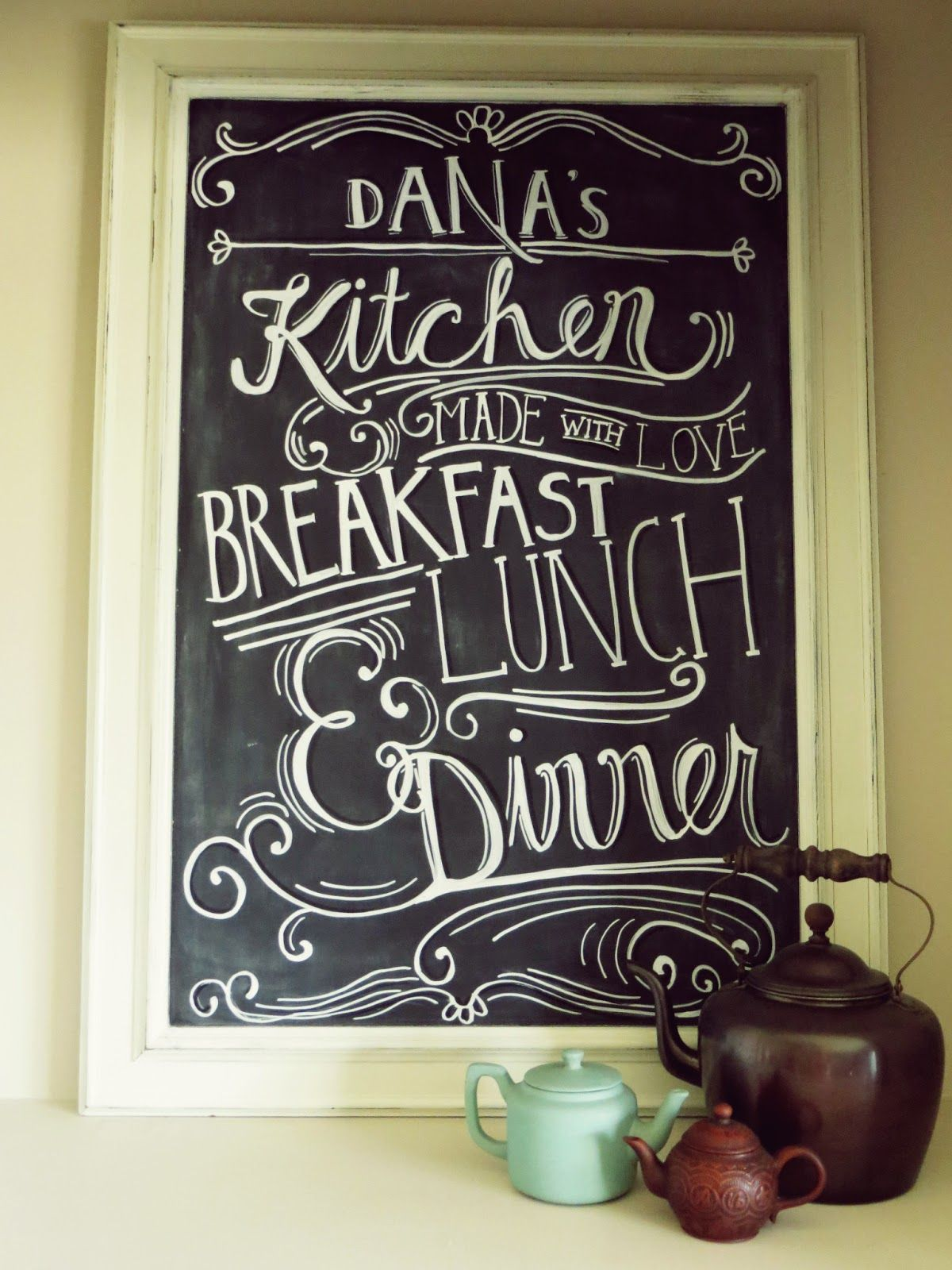 Cricut: Chalkboard kitchen typography | Calligraphy, Lettering, Type ...