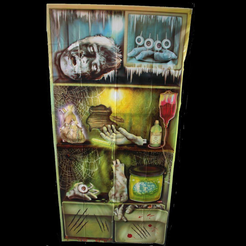Details About Zombie Laboratory HORROR REFRIGERATOR DOOR