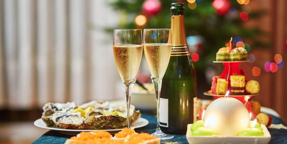 These New Year S Eve Dinner And Party Food Ideas Are All Super Delicious Traditional Christmas Food Food New Years Eve Food