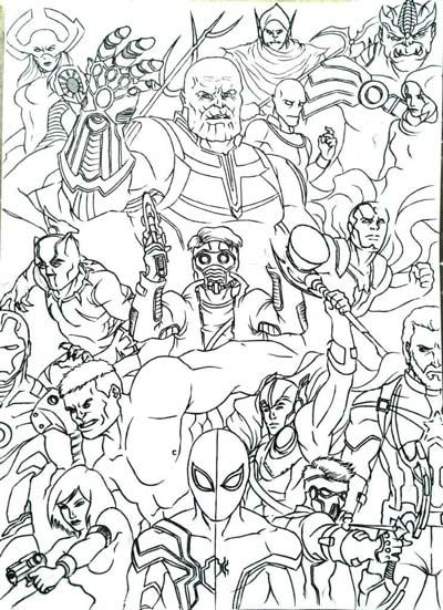 UPDATED 101 Avengers Coloring Pages (September 2020 ...