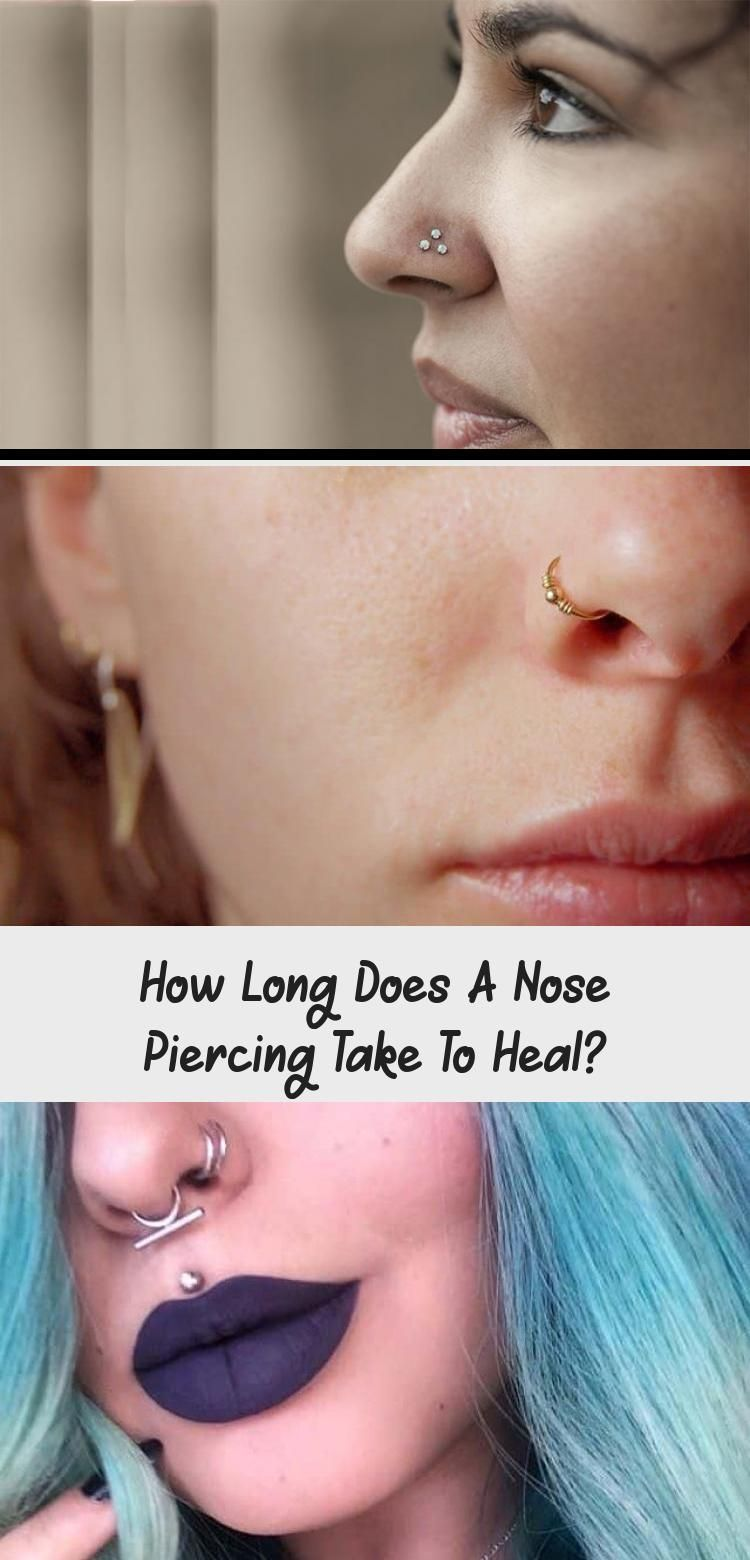 How Long Does A Nose Piercing Take To Heal? - Piercing -  Every type of piercing... -  How Long Does A Nose Piercing Take To Heal? – Piercing –  Every type of piercing heals at its o - #every #glassesframes #Heal #long #noisepiercing #Nose #piercing #type #wirewrappedjewelry