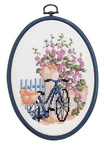 Shop online for Bicycle with Frame Cross Stitch Kit DISC at sewandso.co.uk. Browse our great range of cross stitch and needlecraft products, in stock, with great prices and fast delivery.