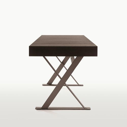 Contemporary Desk Solid Wood Oak By Antonio Citterio Max Maxalto