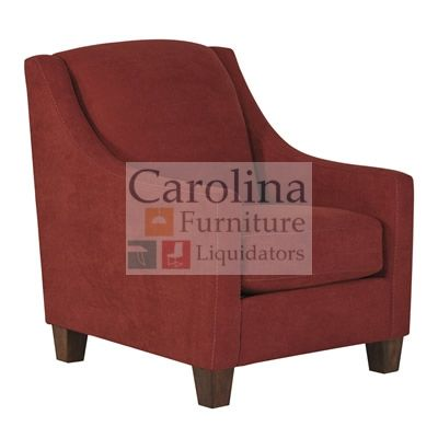 Lovely Red Accent Chair The Comfortable Contemporary Design Of The U201cMaier Siennau201d  Upholstery Accent