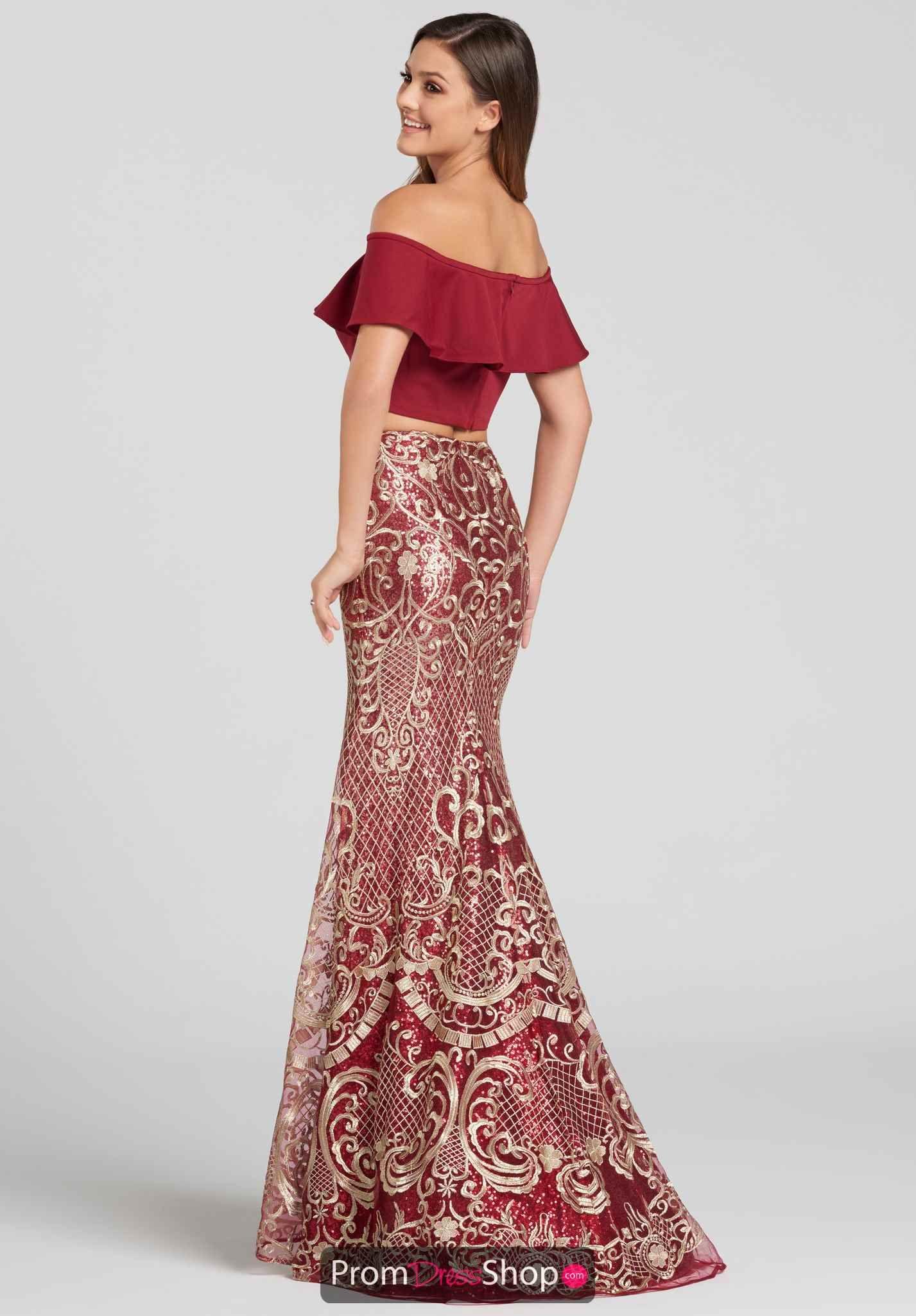 Wine Gold Dresses Prom Dresses Ellie Wilde
