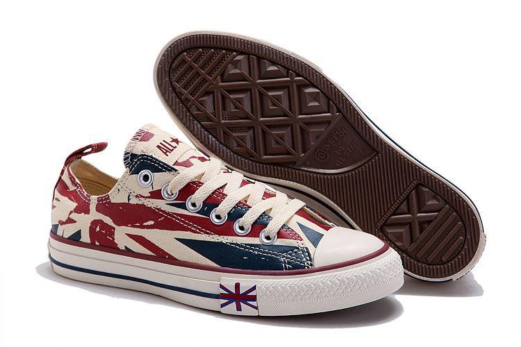 Converse All Star Union Jack Rock UK Flag High #converse