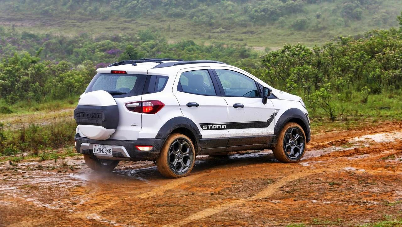 2018 Ford Ecosport Storm First Drive Raptor Wannabe Ford