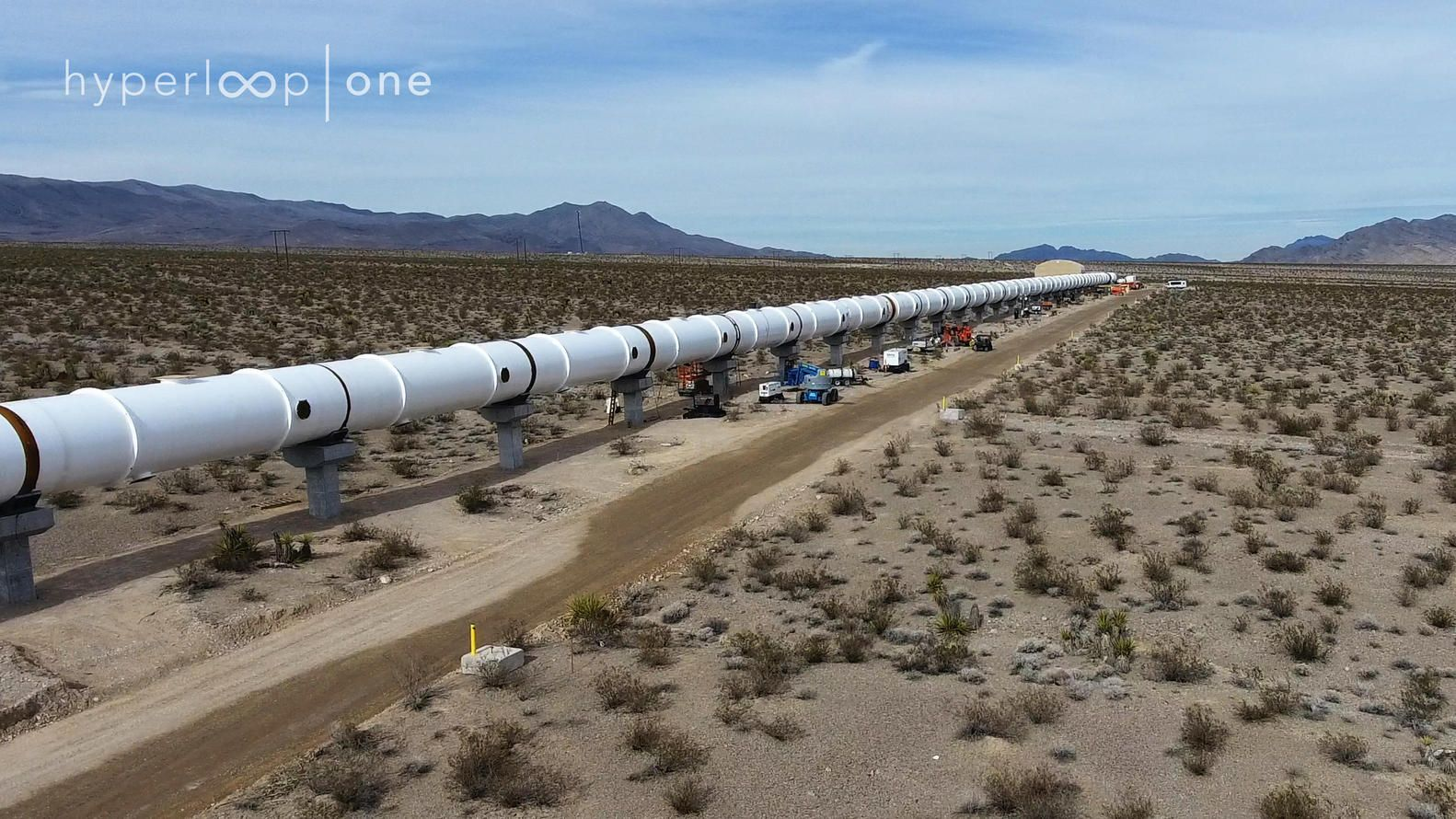 Gallery of FullSized Hyperloop One Test Track Nears