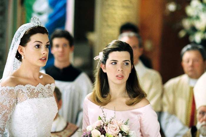 Image result for anne hathaway princess diaries 2 red dress   anne ...