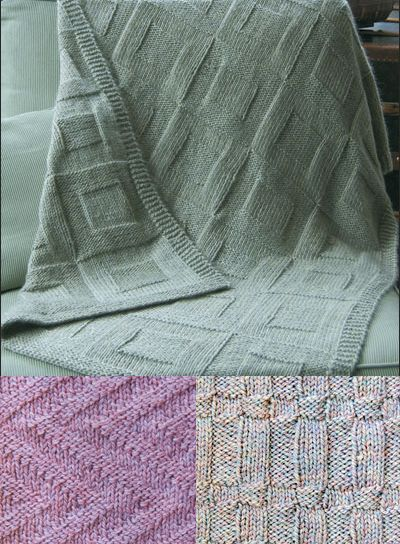 Reversible Afghan Knitting Patterns - #ad Three easy afghan patterns ...