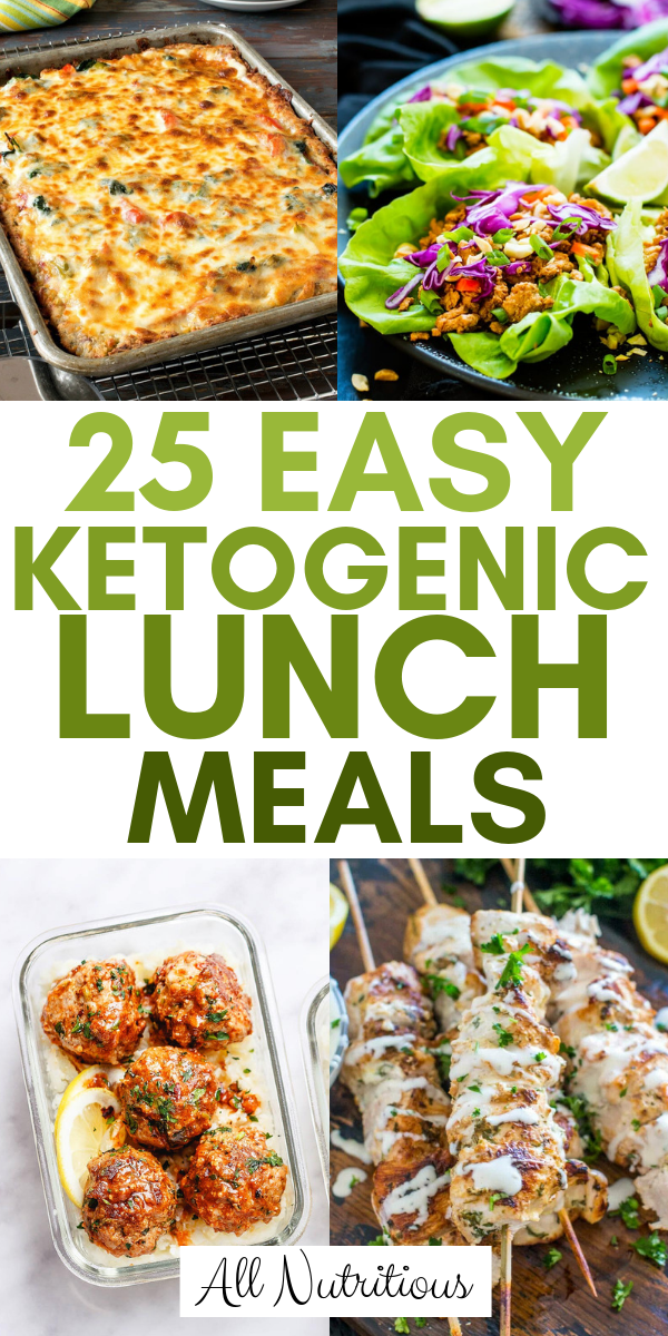 Photo of 25 Easy Ketogenic Lunch Meals