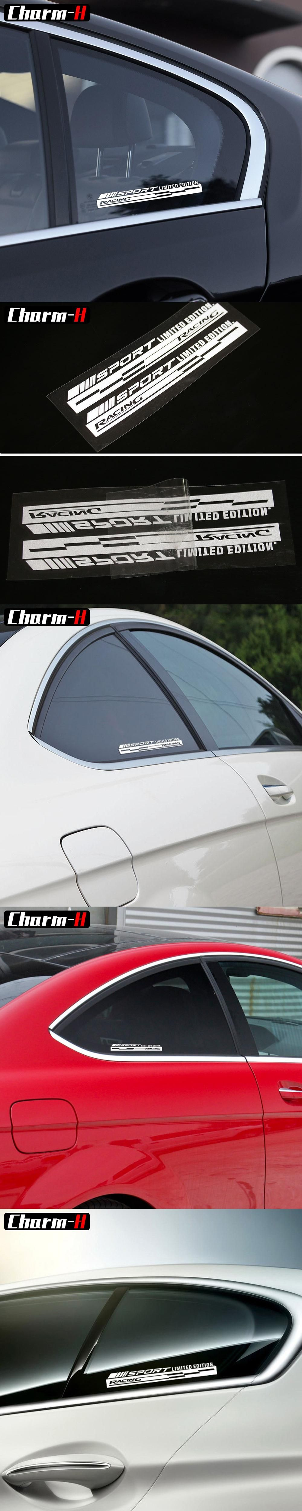 Reflective Racing Decal Window Vinyl Logo Stickers Graphic For Mercedes Benz Amg Sport C E 63 W204 W205 W212 W211 A45 Cla C117 Mercedes Benz Benz Amg