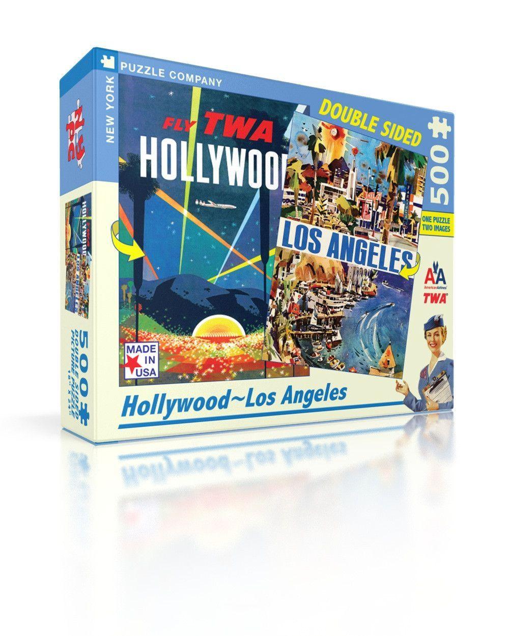 Hollywoodla vintage travel posters los angeles