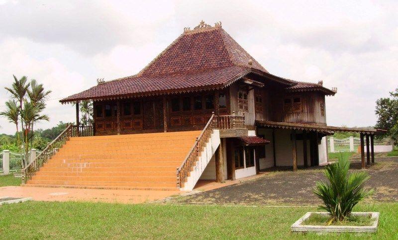 Rumah Adat Di Indonesia Rumah Adat Sumatera Selatan