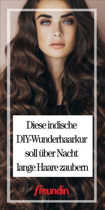Indische DIY-Wunderhaarkur für lange Haare | freundin.de